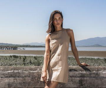 Afinal, como usar roupas de couro no verão?